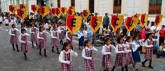 desfile estudiantil retorno ibarra 27 04 2012