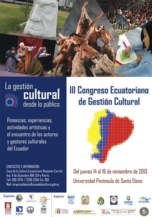 Afiche Gestión Cultural