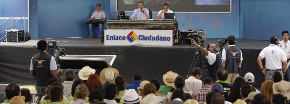 Enlace ciudadano Jorge Glas sobre reunión con AME