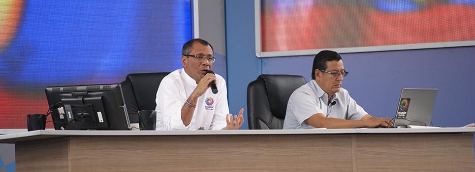 Enlace ciudadano en Santa Elena Jorge Glas web