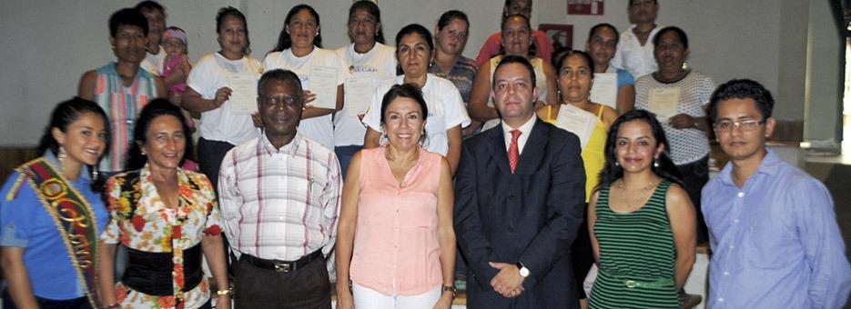 Municipio Puerto Quito y SECAP capacitan en Artes Gráficas