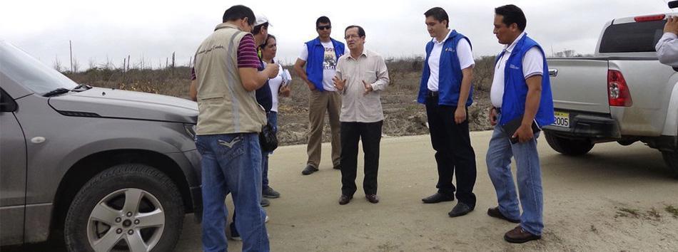 Centro de Contraventores en Huaquillas web