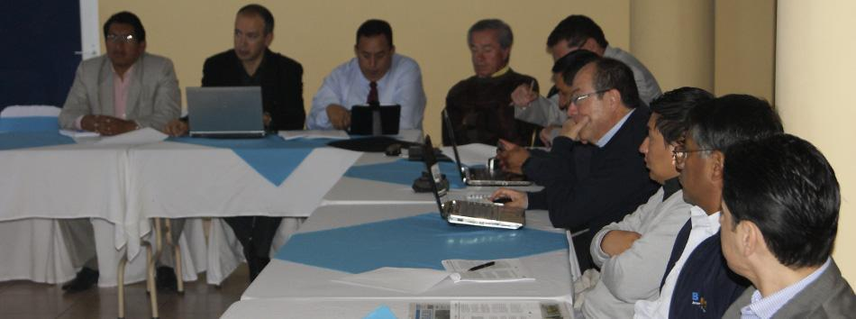 mancomunidad de tránsito de Tungurahua se reunión - regional 3 - web