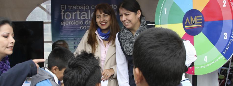 AME participó en III Feria por el Día Mundial del Agua - Web