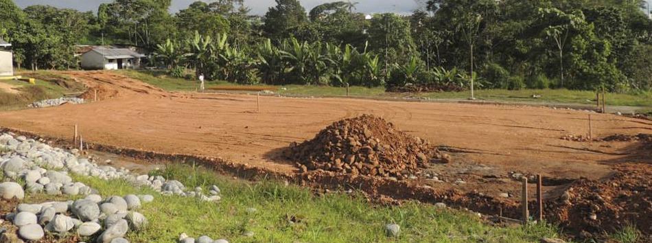 Obras en Cantón Pedro Vicente Maldonado
