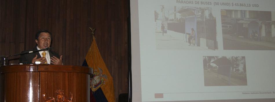 Rendición de Cuentas Alcalde de Riobamaba y Guano