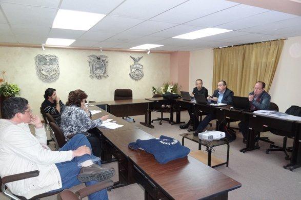 Reunión Senplades y CNC sobre Mancomunidad de Tránsito Tungurahua