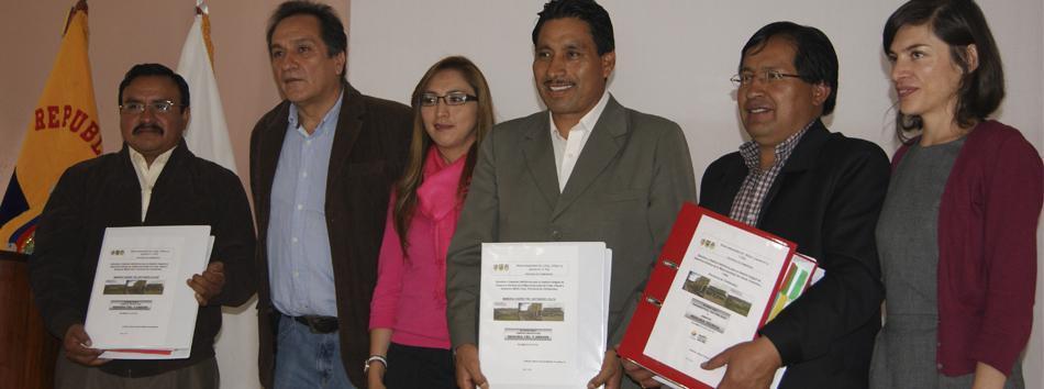 Mancomunidad de Colta Guamote y Alausí cuenta con estudios para GIRS - web