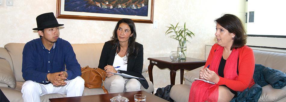 Reunión entre AME con IAT y PROECUADOR web ok
