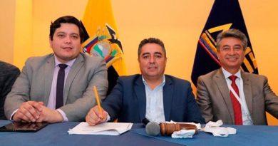 Raúl Delgado, alcalde de Paute, es el nuevo presidente de la AME