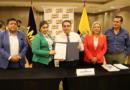 AME fortalece el desarrollo de los GADs con convenios de cooperación técnica