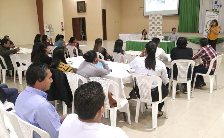 AME capacita a técnicos municipales sobre Planes de Desarrollo Turístico Cantonal