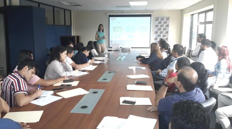 AME brinda capacitación a técnicos municipales sobre Planes de Desarrollo Turístico