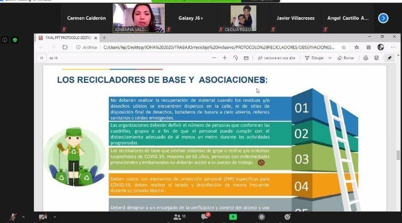 AME y Ministerio de Ambiente capacitan a municipios de las Regionales 1 y 2