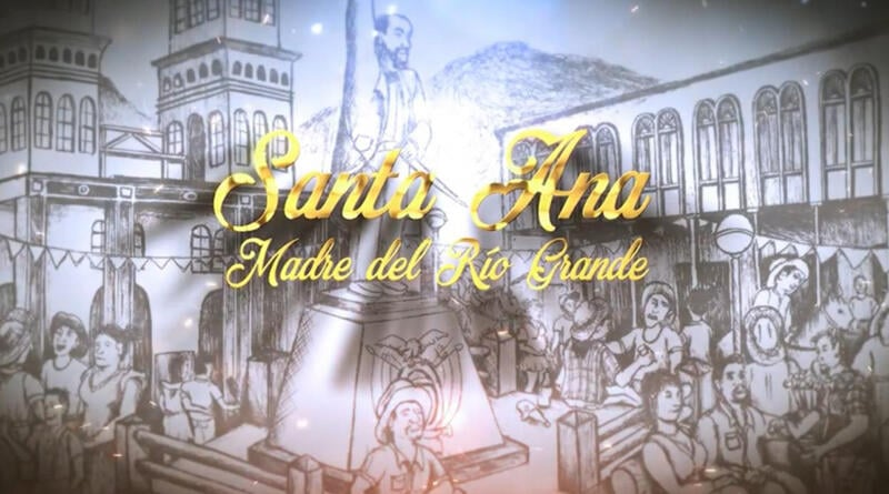 Las fiestas religiosas son parte de la tradición de Santa Ana