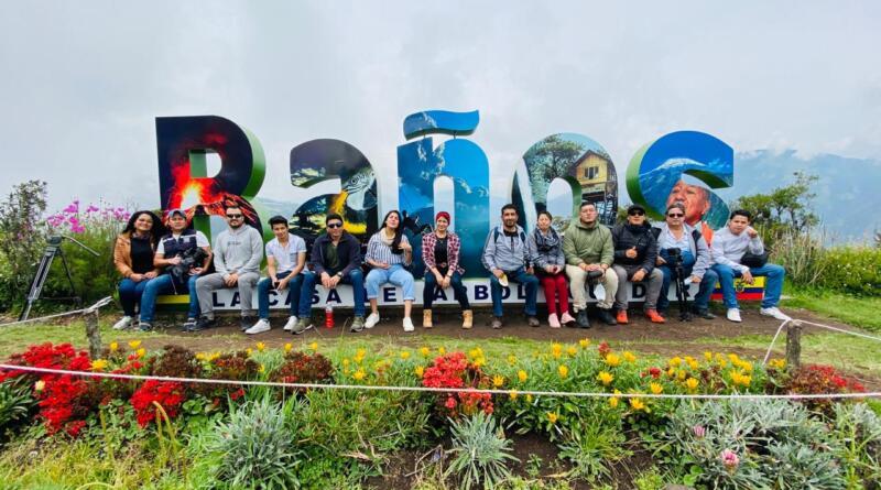 Periodistas visitaron Baños para promocionar atractivos turísticos