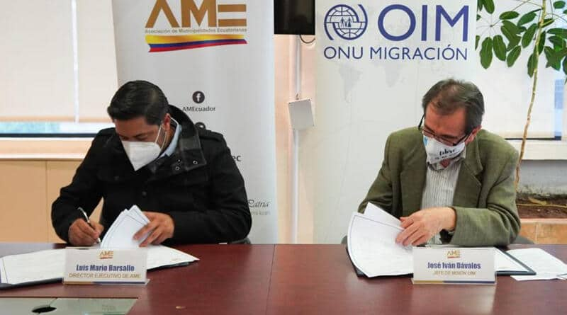 AME afianza lazos de cooperación con organismo internacionales