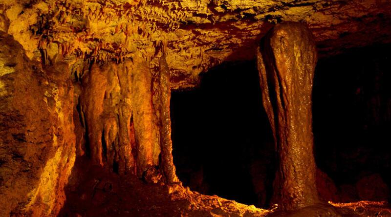 Las cavernas del Rio Anzu y las curiosas formas que albergan en sus entrañas