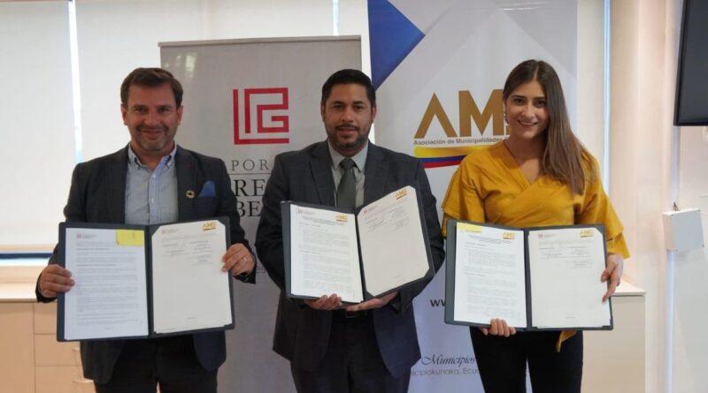 AME firmó convenios interinstitucionales para fortalecer el liderazgo en territorio y vigilar los estándares de transparencia