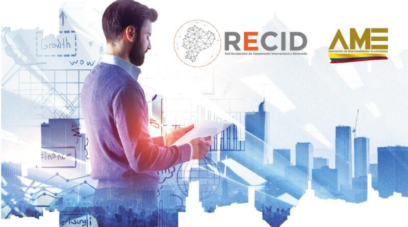 AME y RECID firman Convenio para capacitación en procesos de gestión y elaboración de proyectos