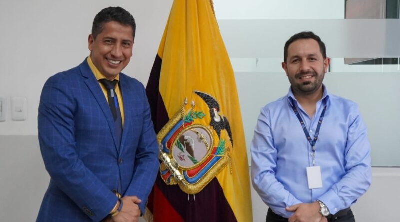 Presidente Nacional de AME, Franklin Galarza, cumplió intensa agenda de actividades en Quito