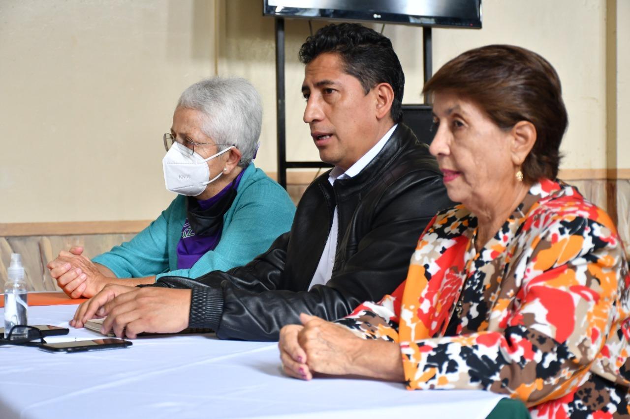 Reunión del Presidente de AME con coalición de mujeres amazónicas