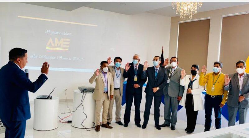 Alcalde de Pastaza, es el nuevo Presidente de AME de la Regional 3